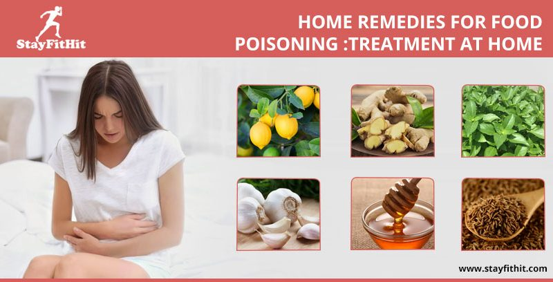 Home Remedies For Food Poisoning :Treatment at Home