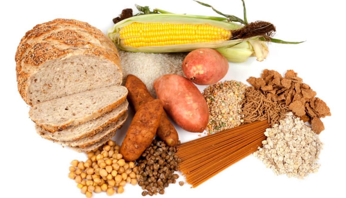 Good source of carbohydrates for healthy daily diet