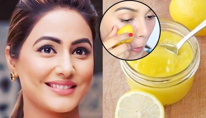 Lemon For Glowing Skin