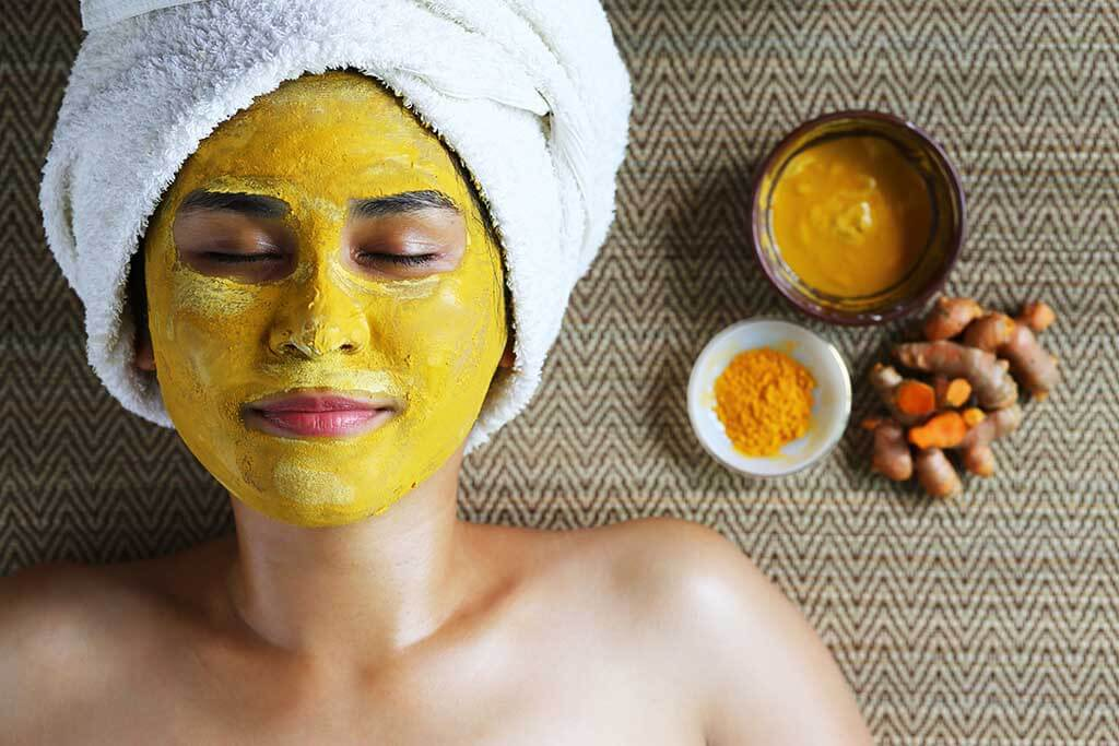 turmeric for glowing skin