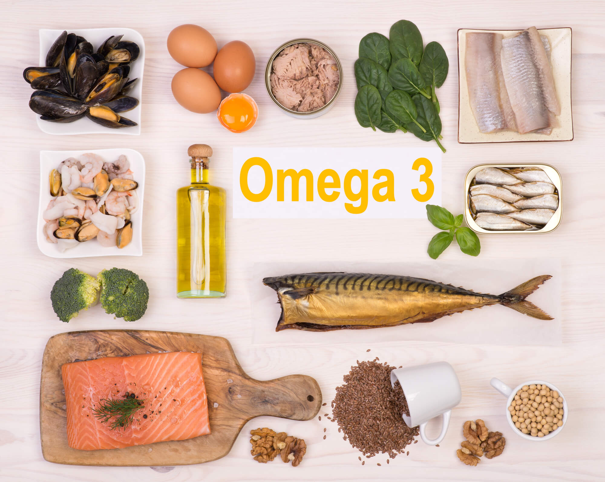 Rich in Omega-3 Fatty Acids