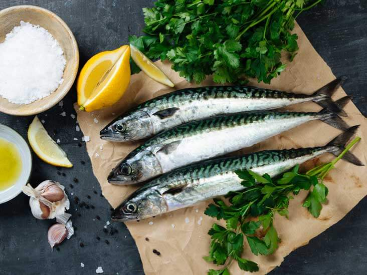 Less Cholesterol:Seafood health benefits