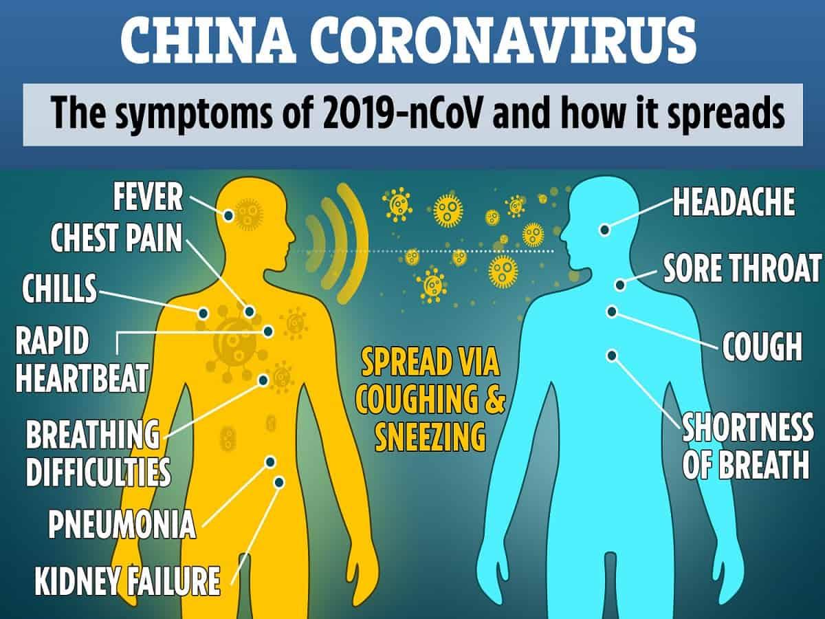 SYMPTOMS OF VIRUS