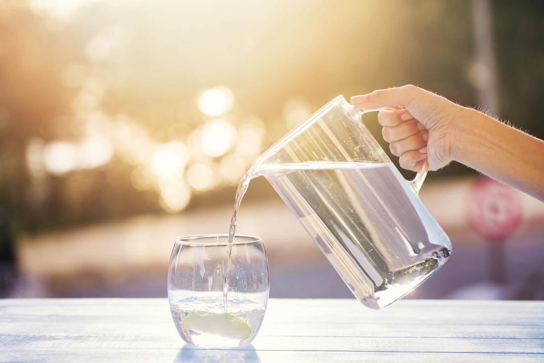 drink water as much as possible