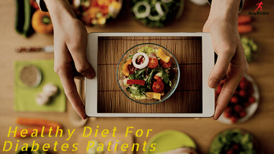 A healthy diet for diabetes patients
