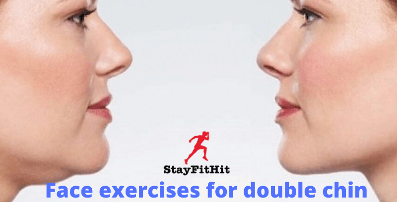 Face exercises for double chin and cheek with best results