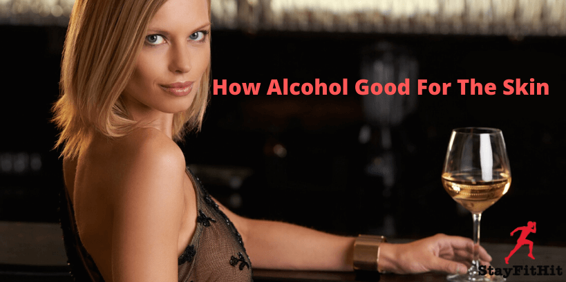 Why alcohol commonly used in skincare products?