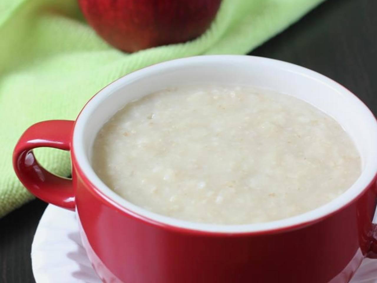 Oats and apple porridge (1)